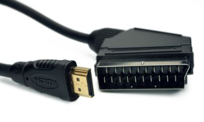 hdmi scart adapter im einsatz mit einem whdi adapter. Black Bedroom Furniture Sets. Home Design Ideas
